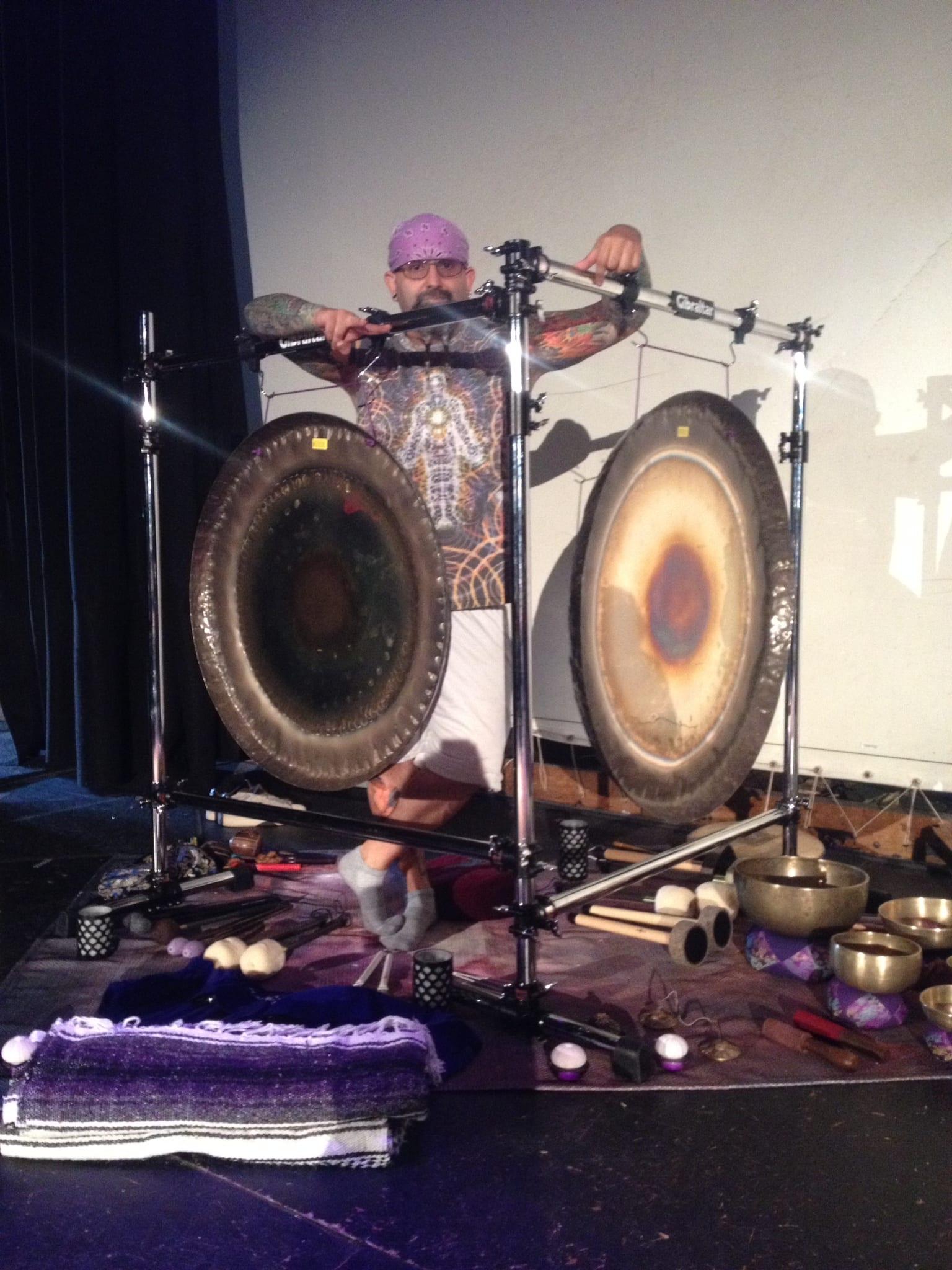 Marshall Bendelac   Vinyasa Productions   Gong Bath   Sound Healing