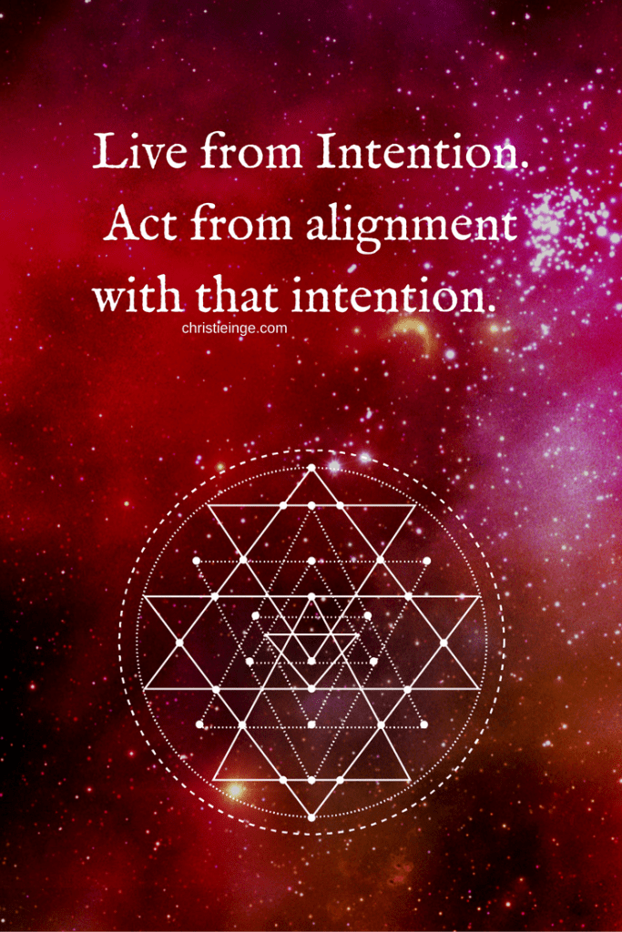 Live in alignment - action required