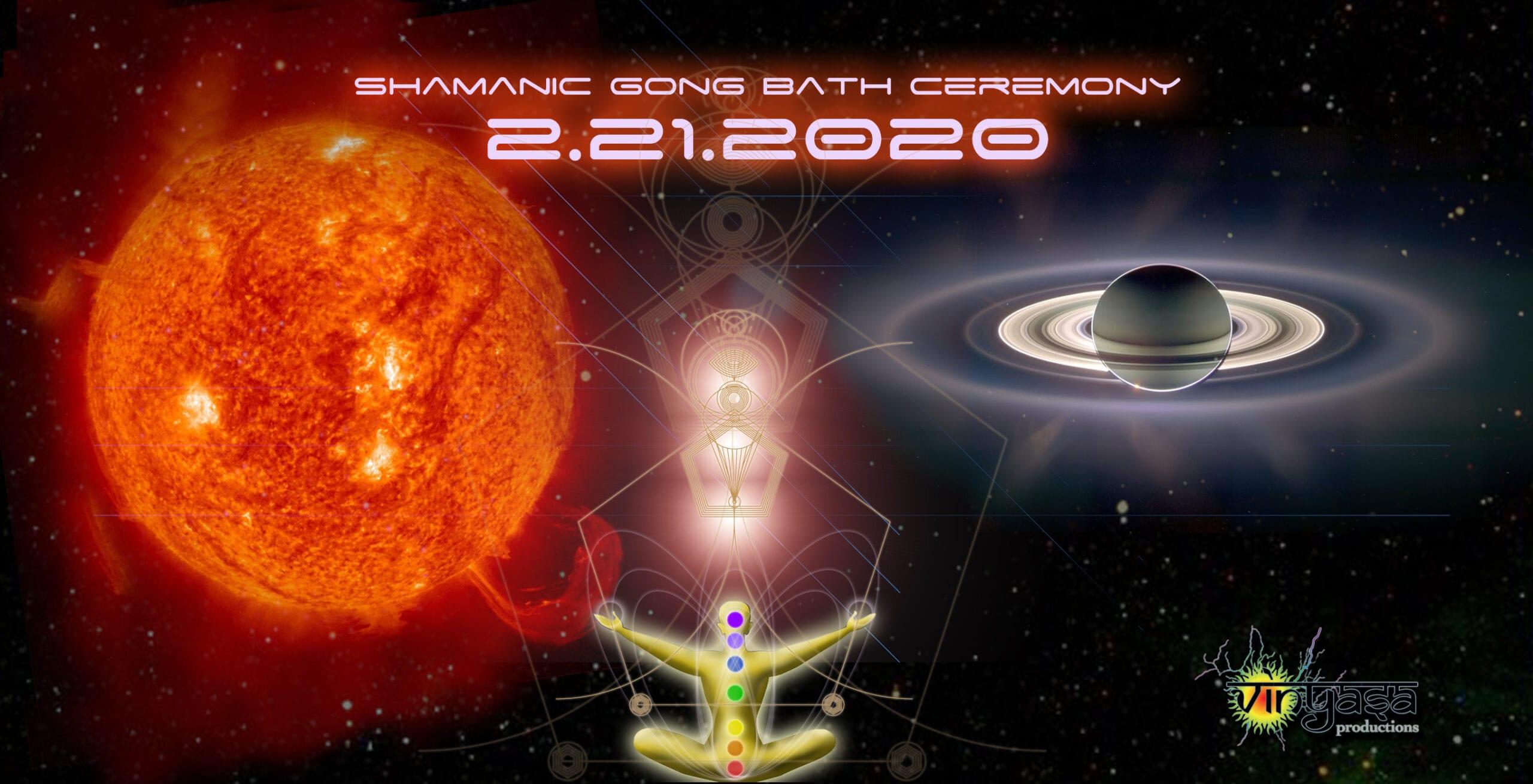 February 21, 2020 Gong Bath