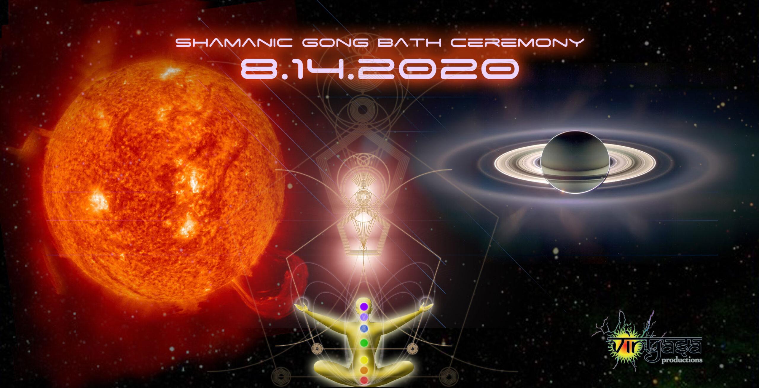 August 14, 2020 Gong Bath